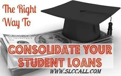 Consolidating student loan